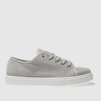 SCHUH GREY NEXT LEVEL TRAINERS