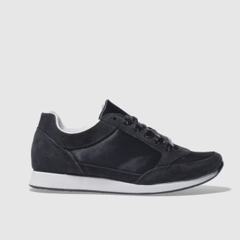 Schuh Navy Cool Down Womens Trainers