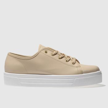 SCHUH NATURAL SNEAKY TRAINERS