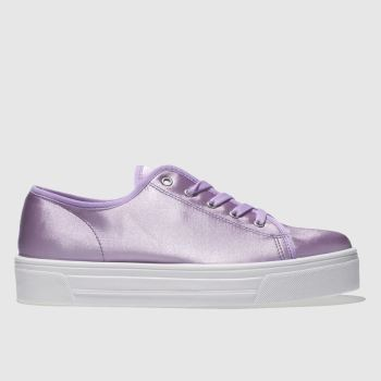 Schuh Lilac Sneaky Womens Trainers