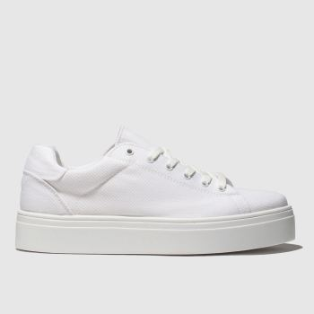 Schuh White Surprise Womens Trainers