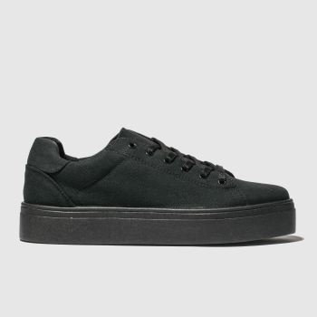 Schuh Black Surprise Womens Trainers