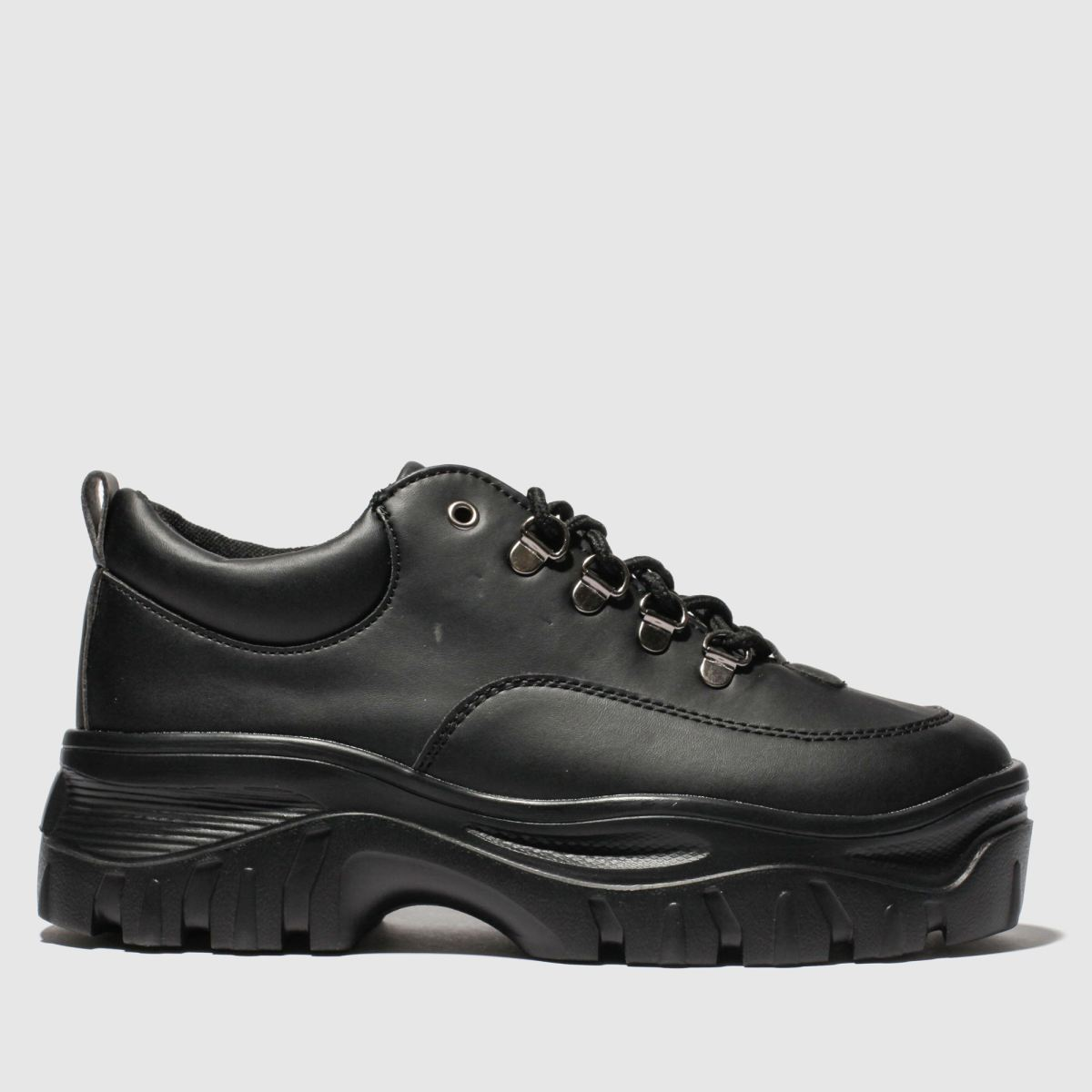 schuh Schuh Black Atmosphere Flat Shoes