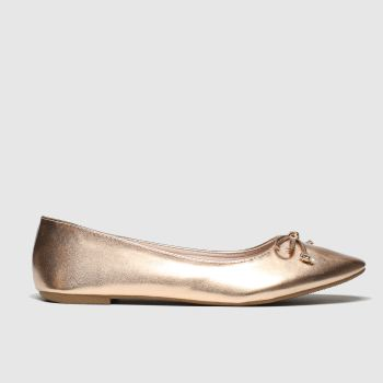 schuh bronze sweetheart flat shoes