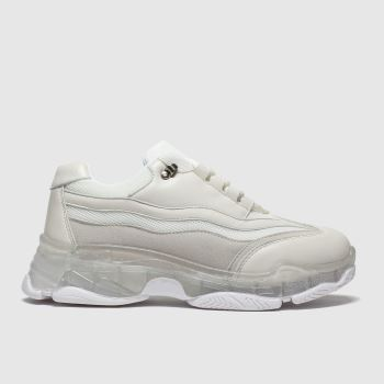 Schuh White Reveal c2namevalue::Womens Trainers