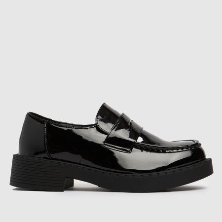schuh Leo Patent Chunky Loafertitle=
