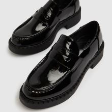 schuh Leo Patent Chunky Loafer,3 of 4