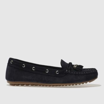 Schuh Navy Spin Around Womens Flats
