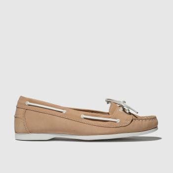 Schuh Pale Pink Twist Again Womens Flats