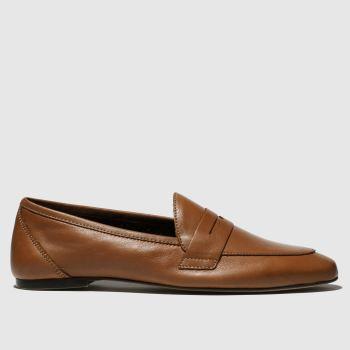 schuh tan impact flat shoes