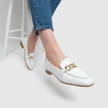 schuh Lina Leather Chain Loafer 1