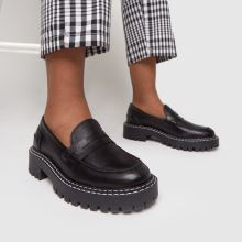 schuh London Chunky Leather Loafer,2 of 4