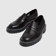 schuh London Chunky Leather Loafer,3 of 4