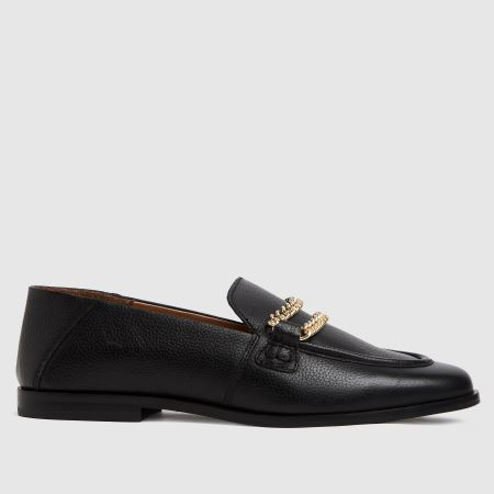 schuh Leandra Leather Chain Loafertitle=