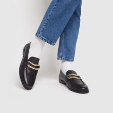 schuh Leandra Leather Chain Loafer,2 of 4