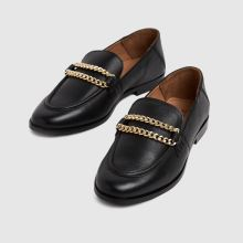 schuh Leandra Leather Chain Loafer,3 of 4