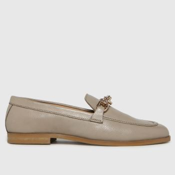 schuh Stone Libby Leather Chain Womens Flats