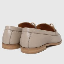 schuh Libby Leather Chain Loafer 1