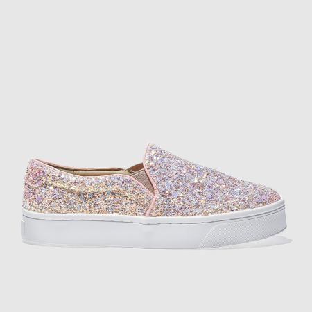 Women Schuh Discotheque Ii Flats Pale Pink