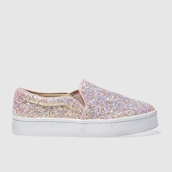 SCHUH PALE PINK DISCOTHEQUE II FLAT SHOES