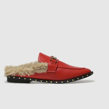Schuh Red Swanky Womens Flats