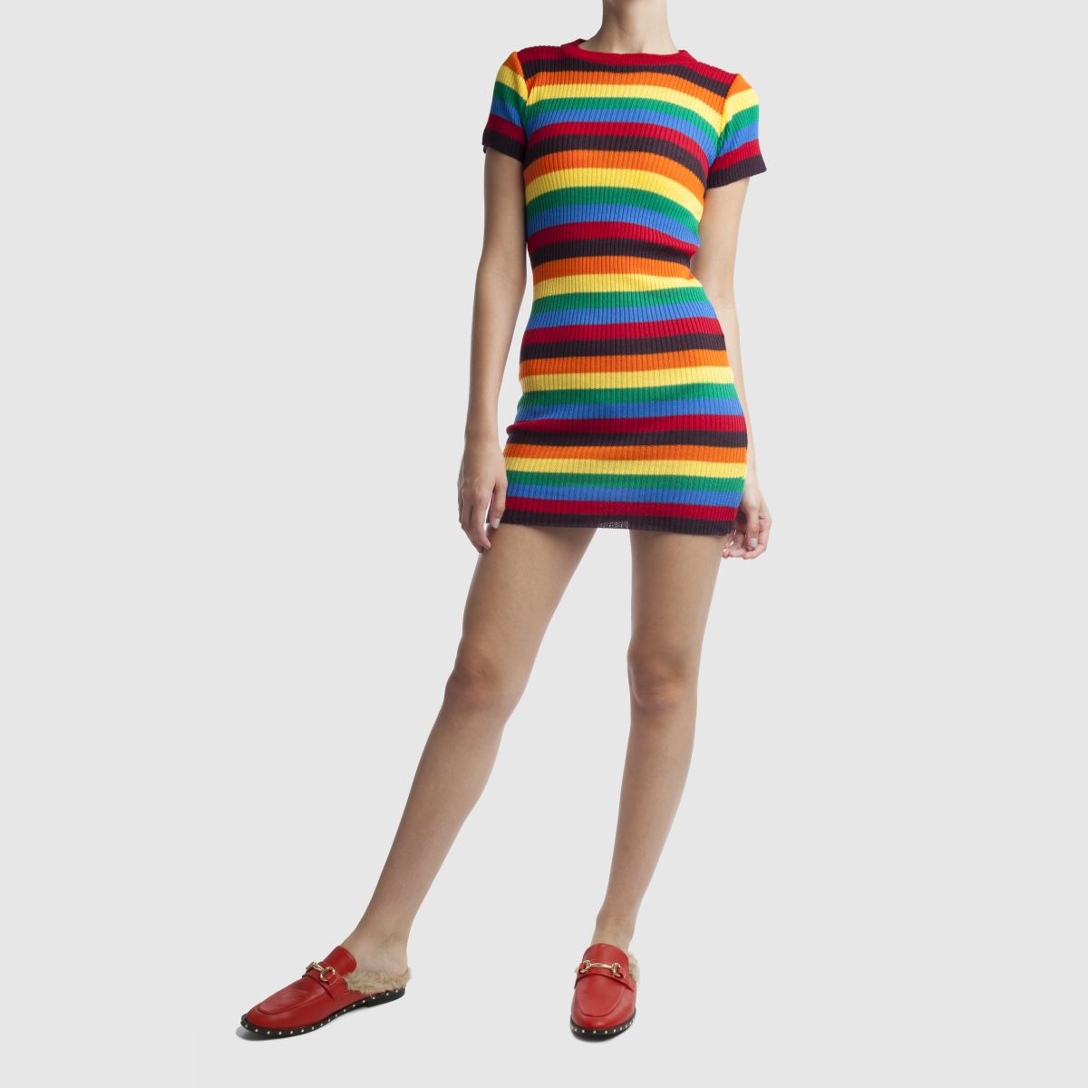 Damen Rot schuh Swanky Flats   schuh Gute Qualität beliebte Schuhe
