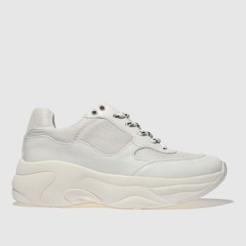 Schuh White On My Mind Womens Trainers