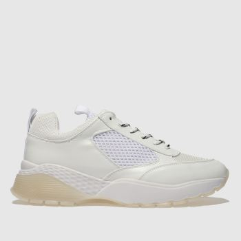 Schuh White Slays Womens Trainers