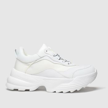 Schuh White Know How Womens Trainers
