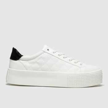 Schuh White Jazzy Womens Trainers