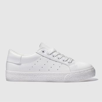 Schuh White Remix c2namevalue::Womens Trainers