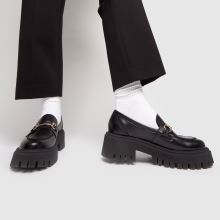 schuh Lilo Chunky Leather Loafer 1