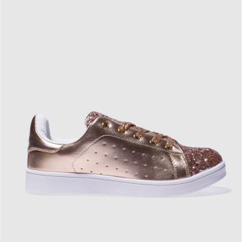 Schuh Bronze Miracle Womens Trainers