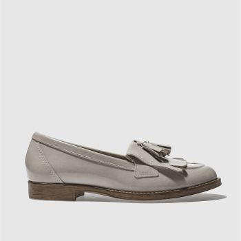 schuh grey compass flat shoes