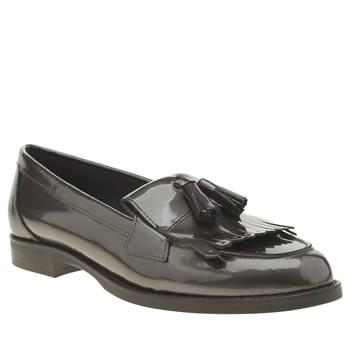 Women S Black Mae Point Toe Court Shoes