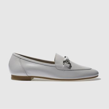 SCHUH GREY DANDY FLAT SHOES