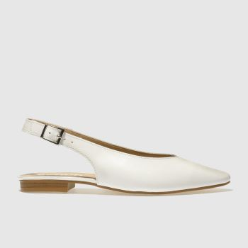 Schuh White Fusion Womens Flats