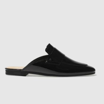 SCHUH BLACK FANCY FLAT SHOES