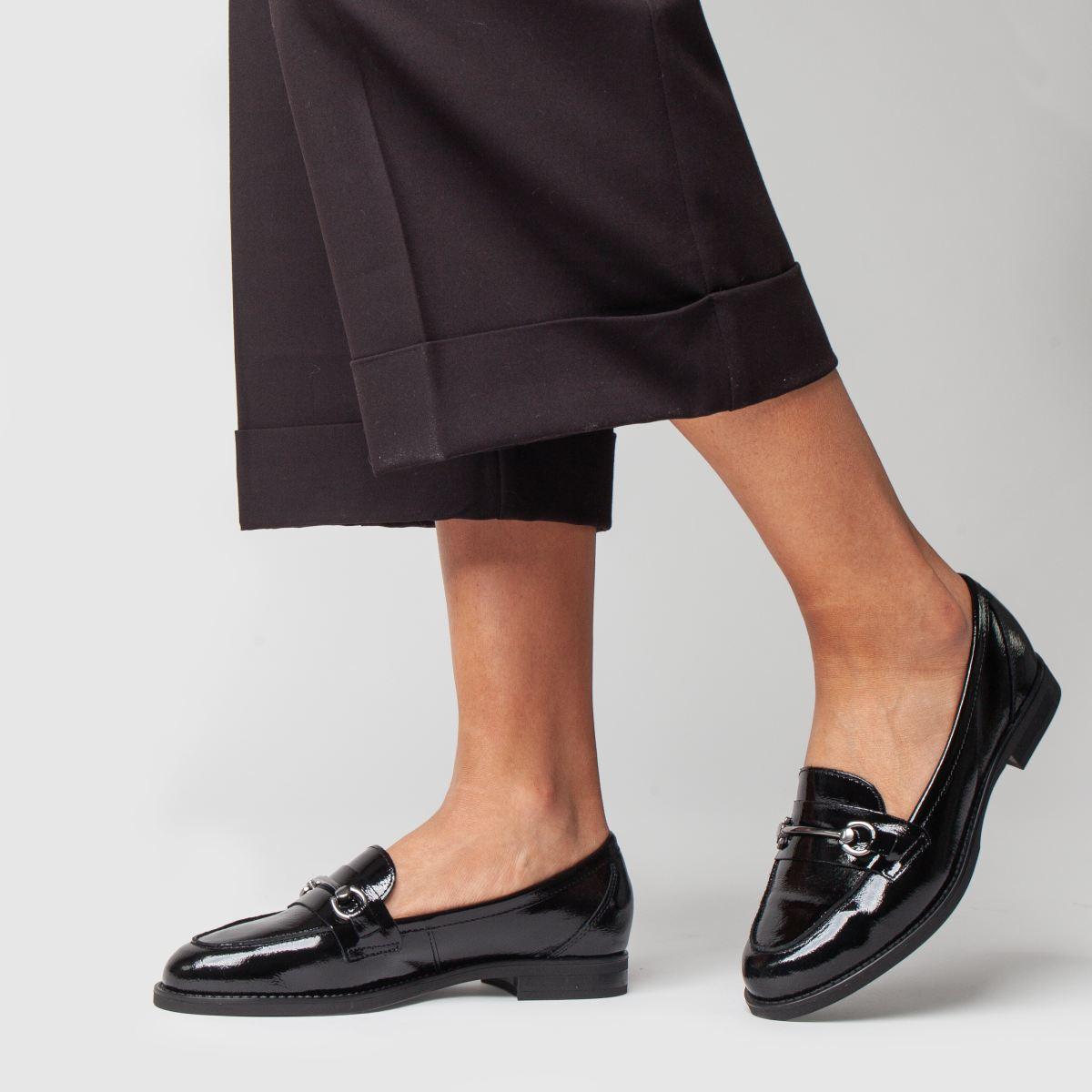 Damen Schwarz schuh Infinity Flats | schuh Gute Qualität beliebte Schuhe