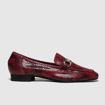 Schuh Burgundy Reflection Womens Flats