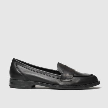 schuh black chronicle flat shoes