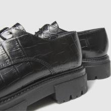 schuh Libra Croc Leather Lace Up 1