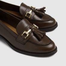 schuh Lizbeth Leather Tassel Loafer 1