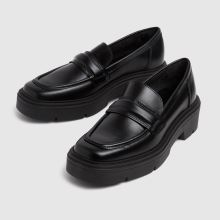 schuh Lennox Chunky Leather Loafer 1