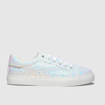 Schuh White Glitterati c2namevalue::Womens Trainers