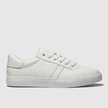 Schuh White Mash Up Womens Trainers