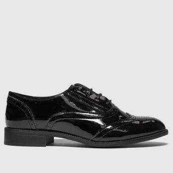 schuh black wisdom flat shoes