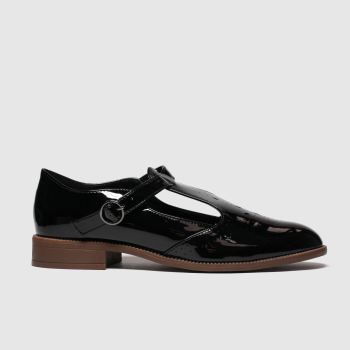 Schuh Black Courage Womens Flats