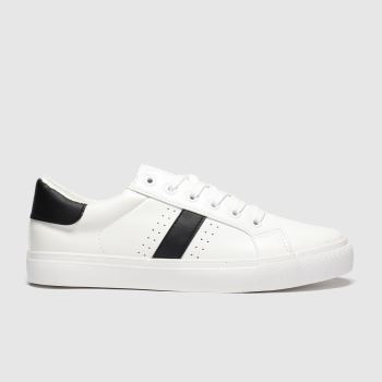 Schuh White & Black Medley c2namevalue::Womens Flats