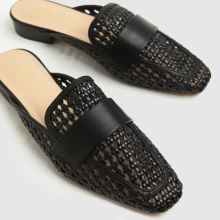 schuh Latoya Weave Backless Loafer 1